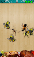 Screenshot of Ant Smasher Christmas Free App