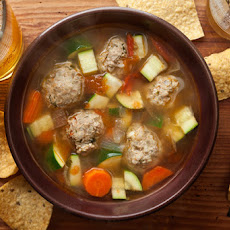 Mexican Turkey Meatball Soup Recipe