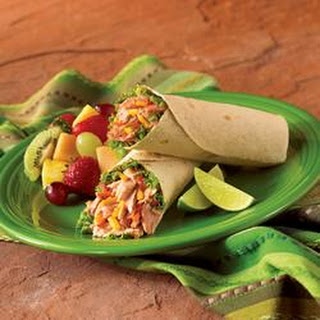 Tuna Salsa Wraps