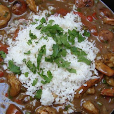 Shrimp and Andouille Sausage Gumbo
