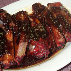 Crock pot Barbecue Spareribs