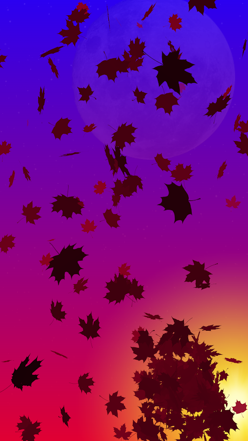 Autumn Leaves Live Wallpaper Screenshot 9