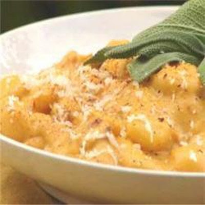 Gnocchi with Pumpkin, Pancetta and Sage Sauce