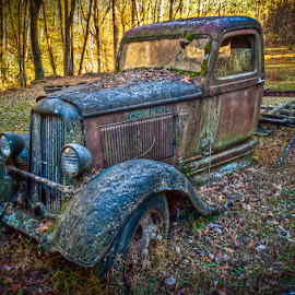Rust in Peace by Ian Armstrong - Transportation Automobiles ( photomatix, hdr, pickup, america, tennessee, nikon, rust, decay )