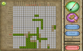 Screenshot of FlipPix Jigsaw - Stained Glass