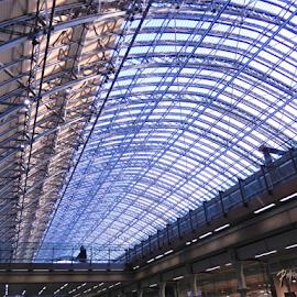 St. Pancras Station by Deborah Russenberger - Buildings & Architecture Architectural Detail ( ceiling )