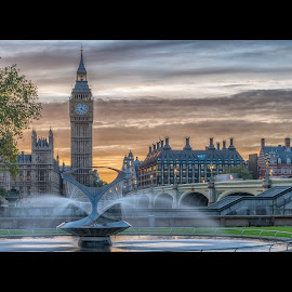 BigBen  by Thasan Sakthi - Buildings & Architecture Statues & Monuments (  )