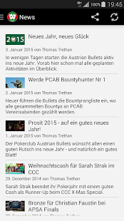 Pokerclub Austrian Bullets - screenshot