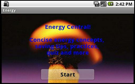 Energy sources uses savings
