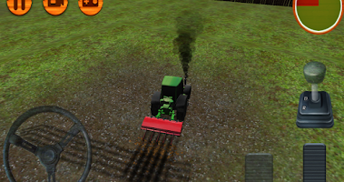 Screenshot of 3D Tractor Simulator Farm Game