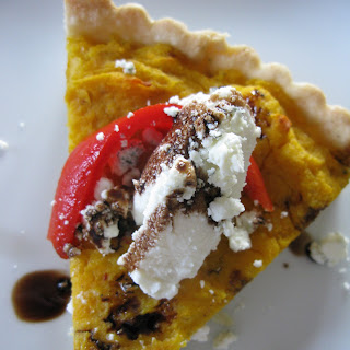 Butternut Squash and Gorgonzola Tart