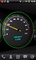 Screenshot of 3D Speedometer Live Wallpaper