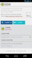 Screenshot of Zumba Fitness