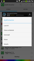 Screenshot of Apk Extractor