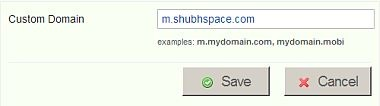 custom domain name with mofuse