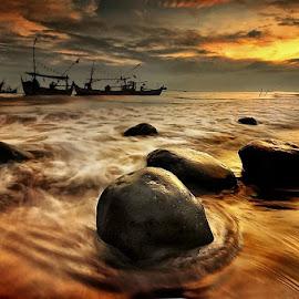 plain sunrise by Dimas Pamungkas - Landscapes Beaches
