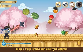 Screenshot of Shuriken Strike: Ninja Master
