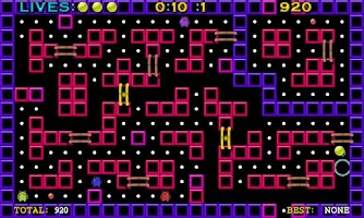Screenshot of Pac-Ball Lite