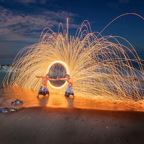 by Daniel Widjaja - Abstract Fire & Fireworks (  )