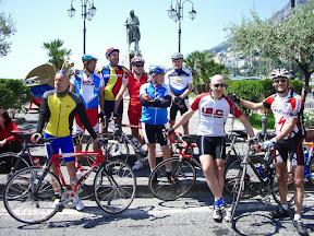 Il gruppo ad Amalfi