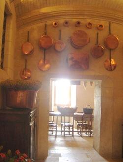 Château de Chenonceau-cuisine