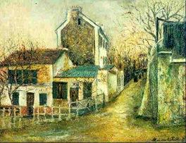 Utrillo-Le Lapin Agile