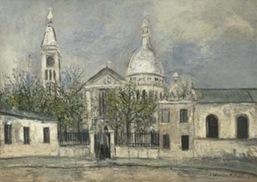 Utrillo-Eglise Saint-Pierre