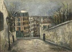 Utrillo-Rue du Mont-Cenis