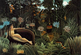 Henri  Rousseau-Dream