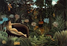 Henri  Rousseau-Dream