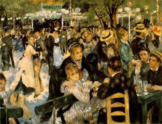 Renoir-Le Bal du Moulin de la Galette