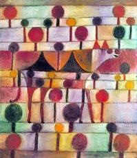 Paul Klee-Camel In Rhythmic Wooded