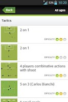 Screenshot of Soccer Exercises for Kids