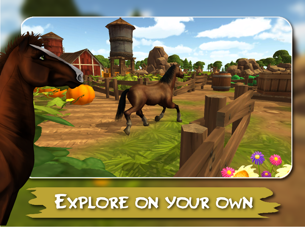 Horse Haven Adventure 3D Screenshot