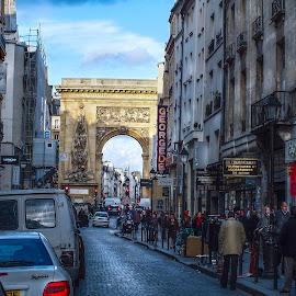 by Nesrine el Khatib - City,  Street & Park  Street Scenes