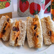 Carrot-Raisin Pb Sandwiches