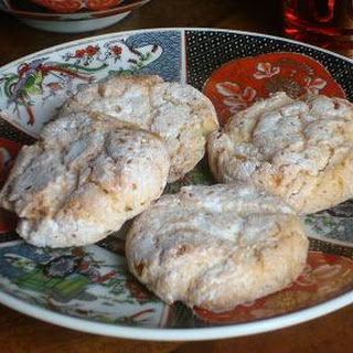Ghoriba with Almonds - Moroccan Almond Macaroons
