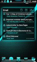 Screenshot of GOWidget ElectricCyan ICS-Free