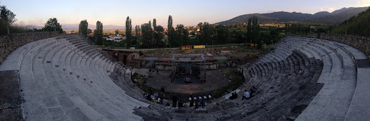 Panoramic view of the amphitheatre