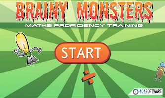 Screenshot of Brainy Monsters