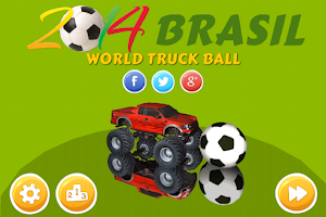 Screenshot of World Truck Ball 2014