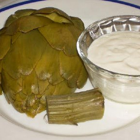 Fresh Artichokes and Recipe for Mom's Dipping Sauce for Artichokes