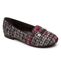 Dolce & Gabbana Tweed Slip On BALLERINA