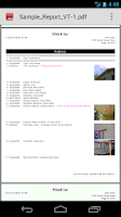 Screenshot of Palm-Tech Inspection Software