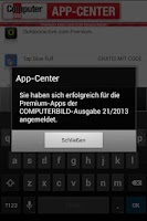 Screenshot of COMPUTERBILD App-Center