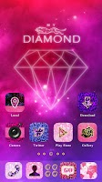 Screenshot of My Diamond GO Launcher Theme