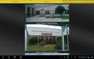 Screenshot of RCISD