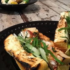 Cool as a Cucumber Lobster with Mint and Tarragon