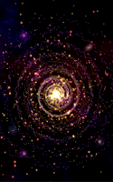 Screenshot of Galaxy 3D Journey Live WP