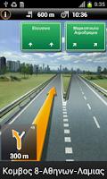 Screenshot of NAVIGON select COSMOTE Edition